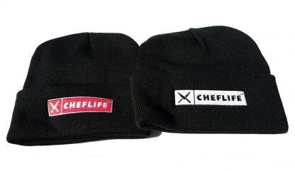 chef life logo beanies